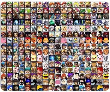 Magic Cases Super Smash Bros 2 Mousepad