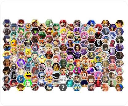 Magic Cases Super Smash Bros 3 Mousepad