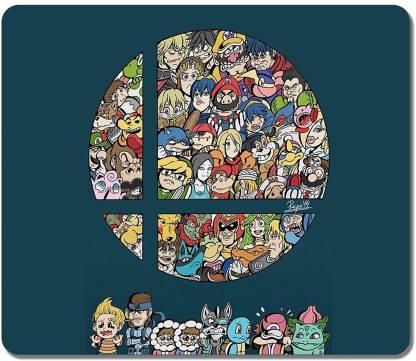 Magic Cases Super Smash Bros Fun Art Mousepad