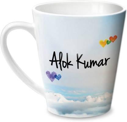 HOT MUGGS Simply Love You Alok Kumar Conical Ceramic Coffee Mug