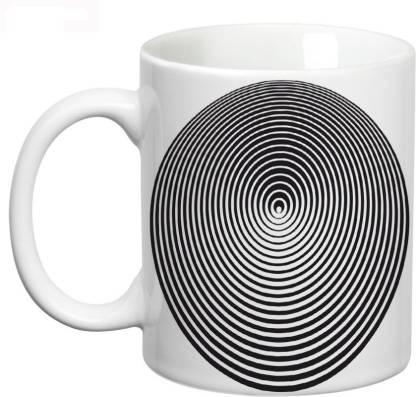 Prithish Pscychological Illusions Design 4 Ceramic Coffee Mug