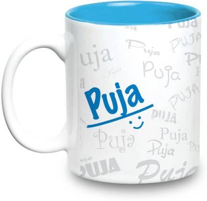 HOT MUGGS Me Graffiti - Puja Ceramic Coffee Mug