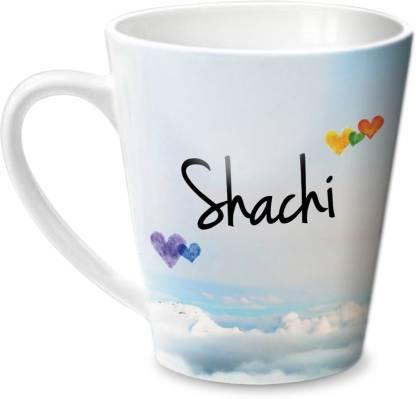 HOT MUGGS Simply Love You Shachi Conical Ceramic Coffee Mug