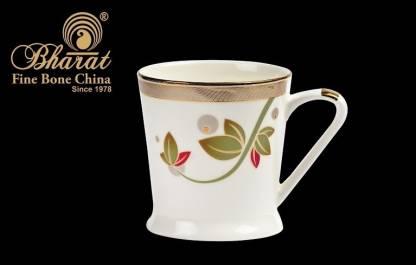 Bharat Tangonite Series Blossoming Bone China Coffee Mug