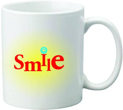 Mugwala Smile Ceramic Coffee Mug