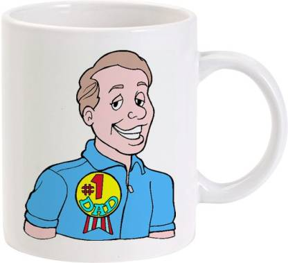 Lolprint 179 No. 1 Fathers Day Gift Ceramic Coffee Mug