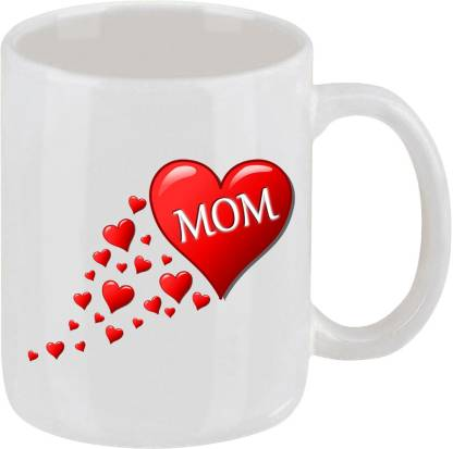 Ellicon 15 I Love You Mom Ceramic Coffee Mug