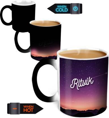 HOT MUGGS You're the Magic… Ritvik Magic Color Changing Ceramic Coffee Mug