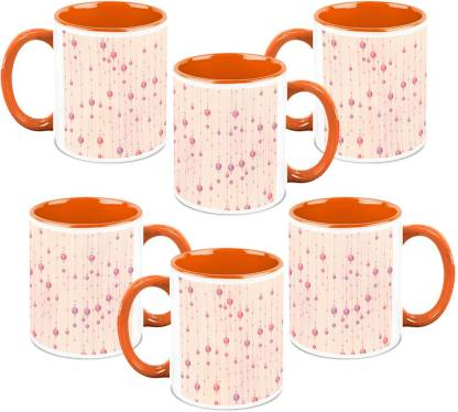 Homesogood Flying Balloons (Qty 6) Ceramic Coffee Mug