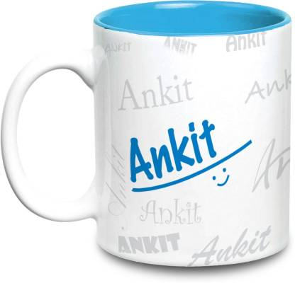 HOT MUGGS Me Graffiti - Ankit Ceramic Coffee Mug
