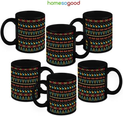 Homesogood Ancient Language (6s) Ceramic Coffee Mug