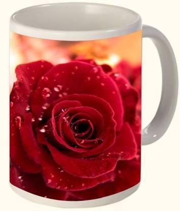Timpax Most Popular & Best Selling Printed Ceramic 325 ML Dishwasher safe. D.No. R-3501 Ceramic Coffee Mug