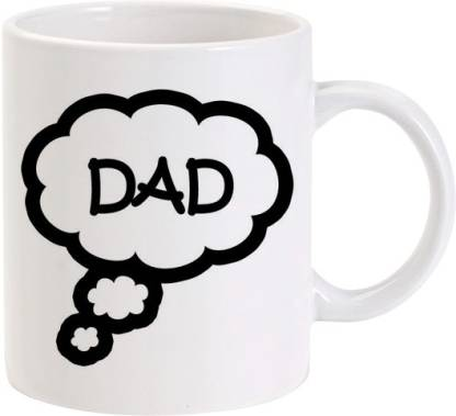 Lolprint 46 DAD Fathers Day Gift Ceramic Coffee Mug