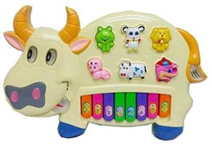 Flying Toyszer Musical Cow Educational Piano
