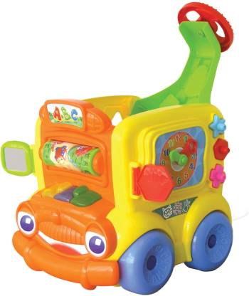 B kids Blue Box Buster The Busy Bus