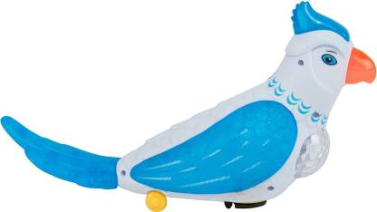 Venus-Planet of toys Fun Speaking Parrot, With 4D Dynamic Light And Sound, Toy For Baby