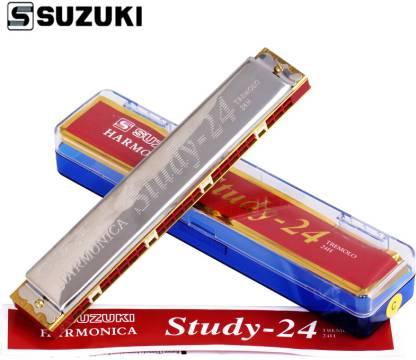 SUZUKI Mouthorgan Harmonica 24-C