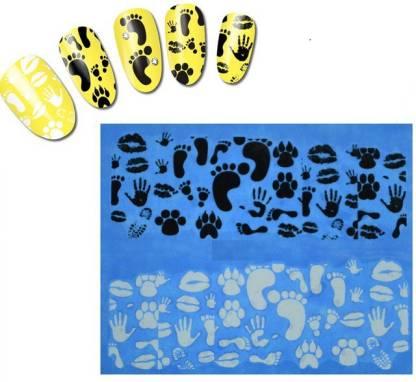 Azzuro Water Transfer Nail Art Decals Sticker