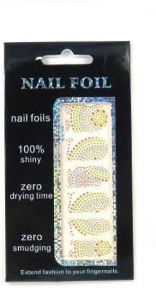 JMD HOMEWARE Nail Art Foil Sticker 3d (Multicolor)