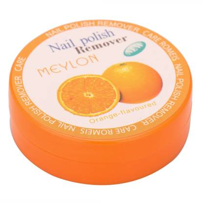 Meylon Paris Nail Polish Remover Orange