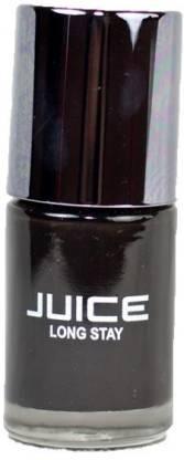 Juice Long Stay HD Matt Nail Color Black Magic