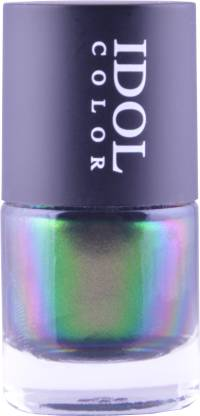 Idol Color Imported COLOR CHANGING Nail Polish Shade shift from Antique Rose Gold to Green, Bronze, Copper, Brass ID - 206 Copper, Green, Gold, Bronze, Rose Gold, Brass