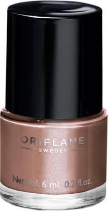 Oriflame Sweden pure colour nail paint bronzed brown