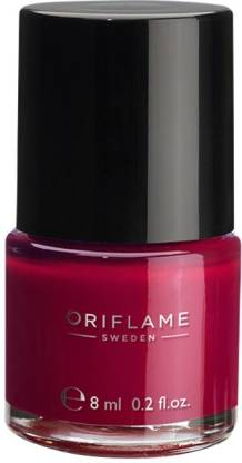 Oriflame Sweden pure Colour Nail Polish Ruby pink