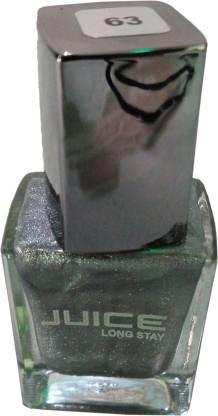 Nail Juice Paint Silver Glitter