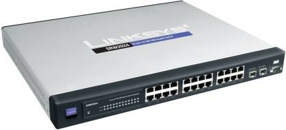 CISCO SG300-28 28-port Gigabit Managed Switch - SRW2024-K9-Eu Network Switch