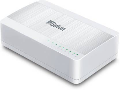 iball 8-Port 10/100M Fast Ethernet Switch. Network Switch