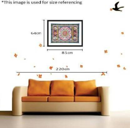 KalaSanthe The Complete Story of Lord Ganesha Canvas 25 inch x 19 inch Painting