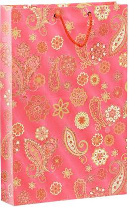 Bdpp Paper Processers Multicolor Paisley Printed Party Bag
