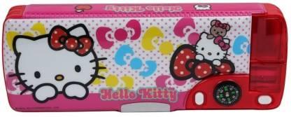 Hello Kitty School Plastic Pencil Box