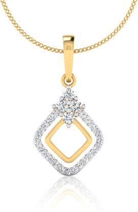 IskiUski Dailywer 14kt Diamond Yellow Gold Pendant