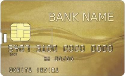 PRINTLAND Credit card Shape Pendrive PC85898 8 GB Pen Drive