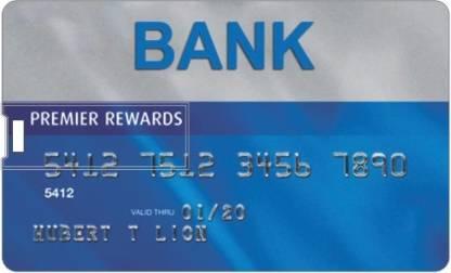 PRINTLAND Credit card Shape Pendrive PC85919 8 GB Pen Drive