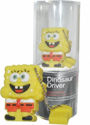 Dinosaur Drivers Sponge Bob 32 GB Pen Drive