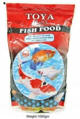 Toya DryFood Red 1 kg Dry Adult Fish Food