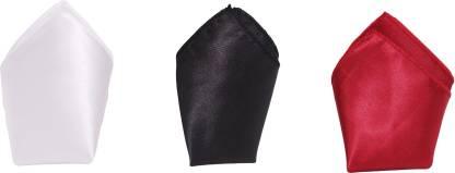 Air Fashion Solid Velvet Pocket Square