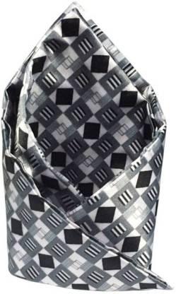Vibhavari Solid Cotton Blend Pocket Square