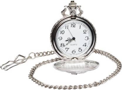 POURNI Antique Design Usable Analog Pocket Watch