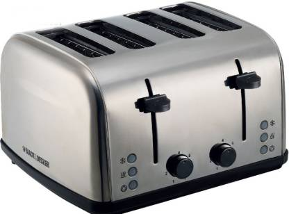 Black & Decker ET304-B5 1800 W Pop Up Toaster