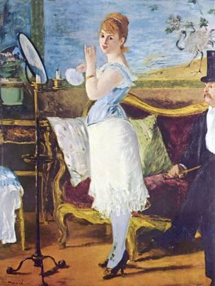 Nana by Manet Canvas Art