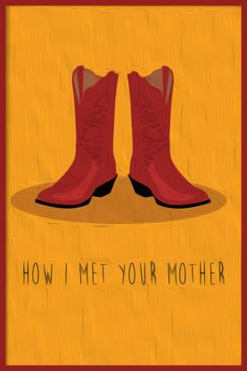 How I Met Your Mother - The Red Boots Paper Print
