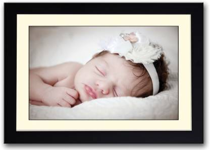 AnanyaDesigns Wall Poster Sweet Little Baby Girl PaperPrint Paper Print