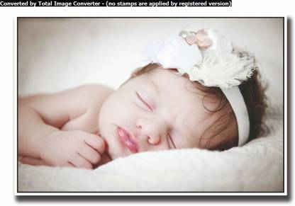 Athah Poster Sweet little baby girl Paper Print