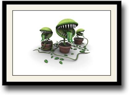 Monster plants art Fine Art Print