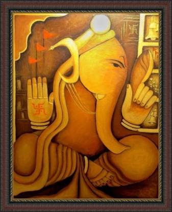 Ganapati - ArtsNyou Printed Paintings Canvas Art