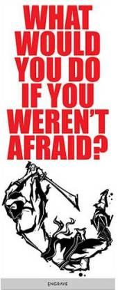 """If You Weren't Afraid 12""""x30"""" Canvas Art"""
